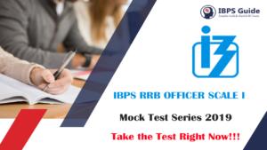 IBPS RRB PO Mock Test