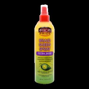 African Pride Braid Sheen Spray Extra Shine