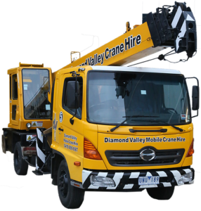 Hire Our 7t Slew Crane for Spa Installation
