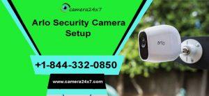 Arlo Security Camera Setup
