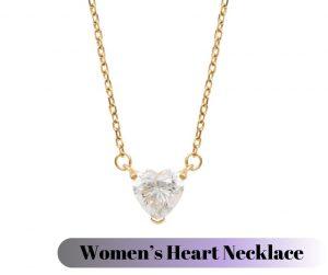 Women Heart Necklace