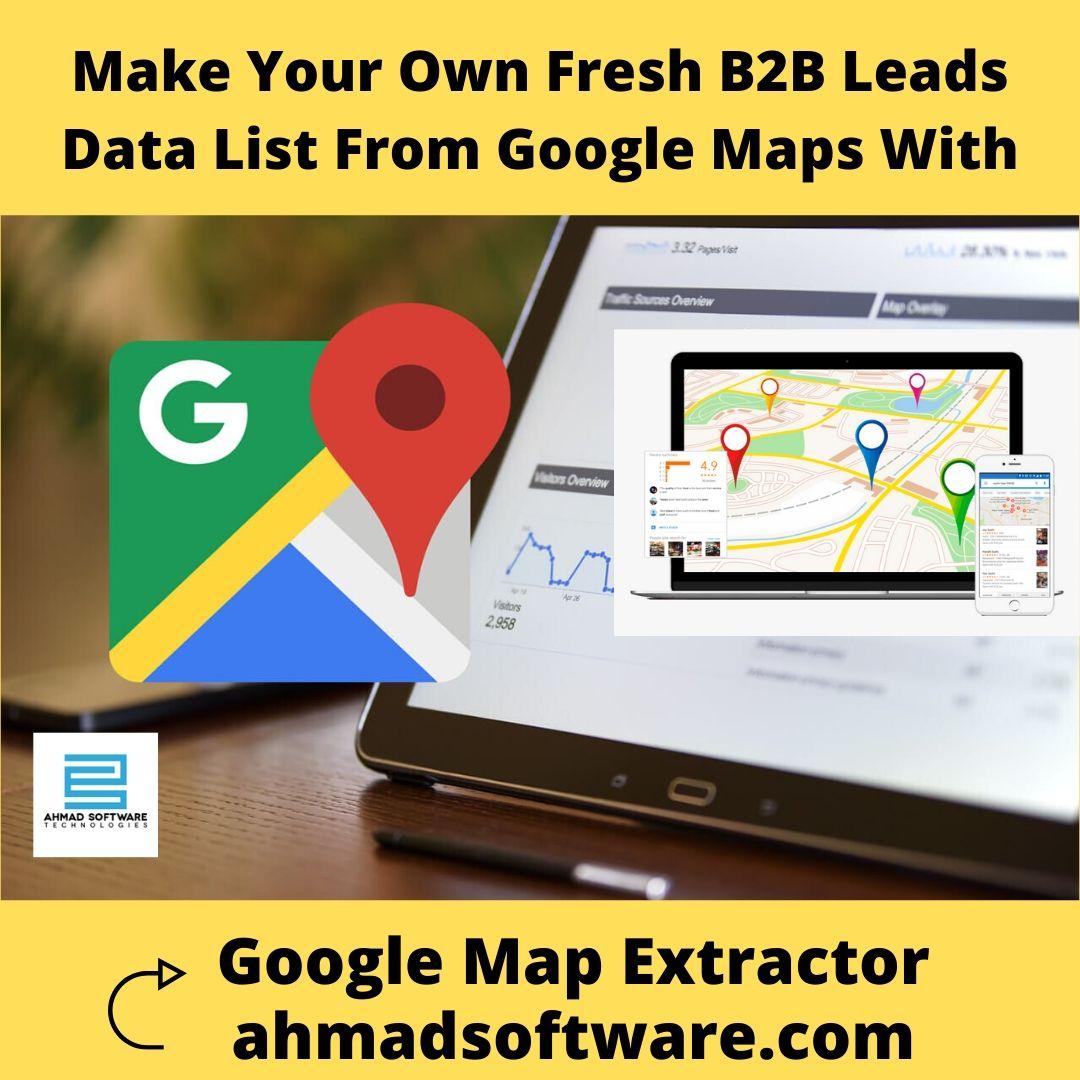google maps scraper, google map lead extractor, google maps contact extractor