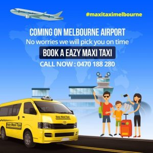 Book A Taxi To Melbourne Airport