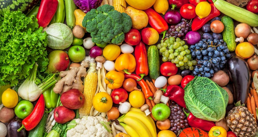 mix fruit and vegetables