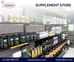 Supplement Store in AGCR Enclave