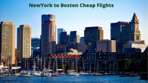 NewYork to Boston Cheap Flights