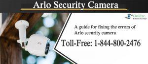 Arlo Security Camera.