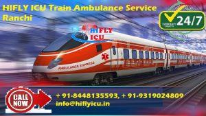 train ambulance in Ranchi