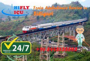 Train Ambulance in Siliguri