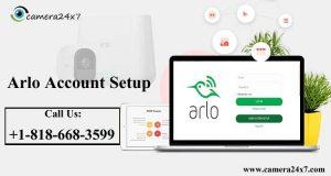 Arlo Account Setup