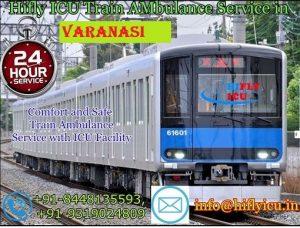 Train Ambulance in Varanasi