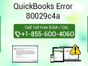 quickbooks error 80029c4a