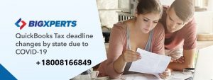 QuickBooks Tax Deadline Changes by The State Due to COVID-19