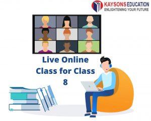 Live Online Class for Class 8