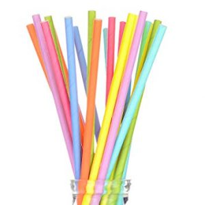 Single Color Straws Market
