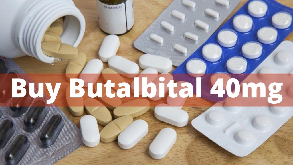 Buy Butalbital 40mg