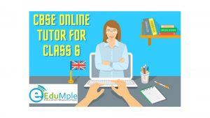 CBSE Online Tutor for class 6