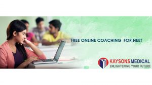 Free online coaching for NEET 2021