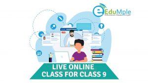 Live Online Class for class 9