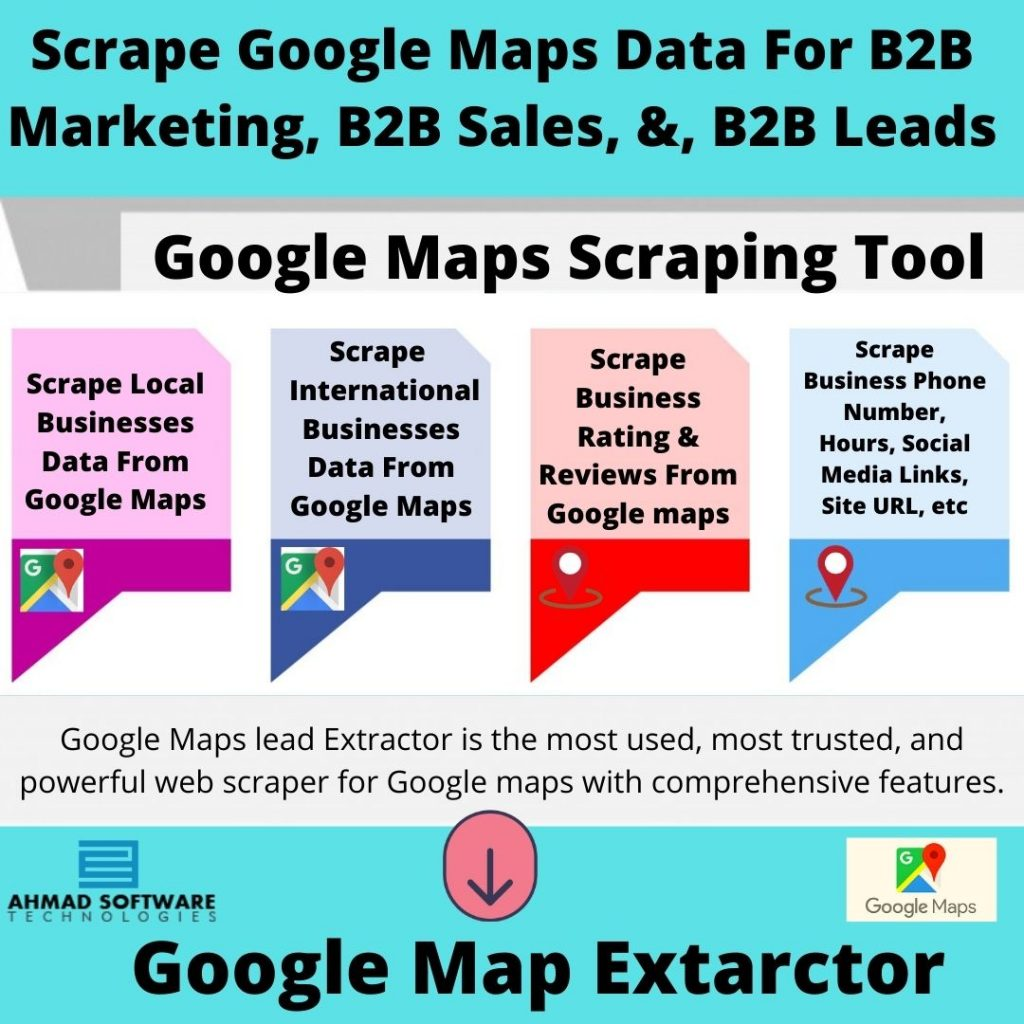 Scrape Commercial Businesses data From Google Maps