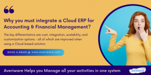 cloud erp for finance industry