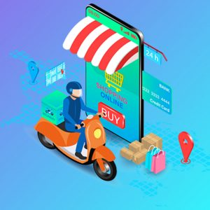 food delivery application development