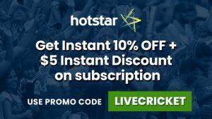 Hotstar US Dream11 IPL 2020