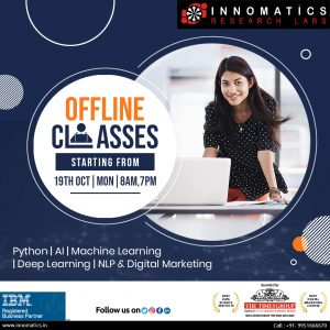 Innomatics Research Labs Logo - Best Data Science & Digital Marketing training Institute in Hyderabad India Awarded by The Times group