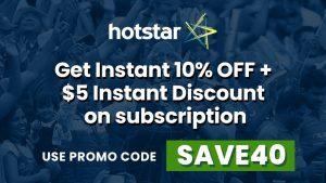 Hotstar, Promo, Code, USA, IPL, Dream11, 2020