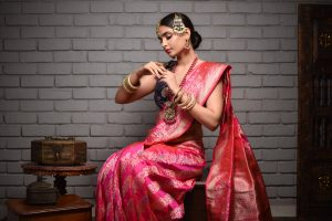 Banarasi Sarees at Sacred Weaves
