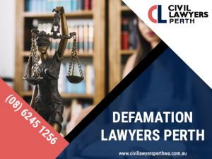 Need defamation of character lawyers in Perth