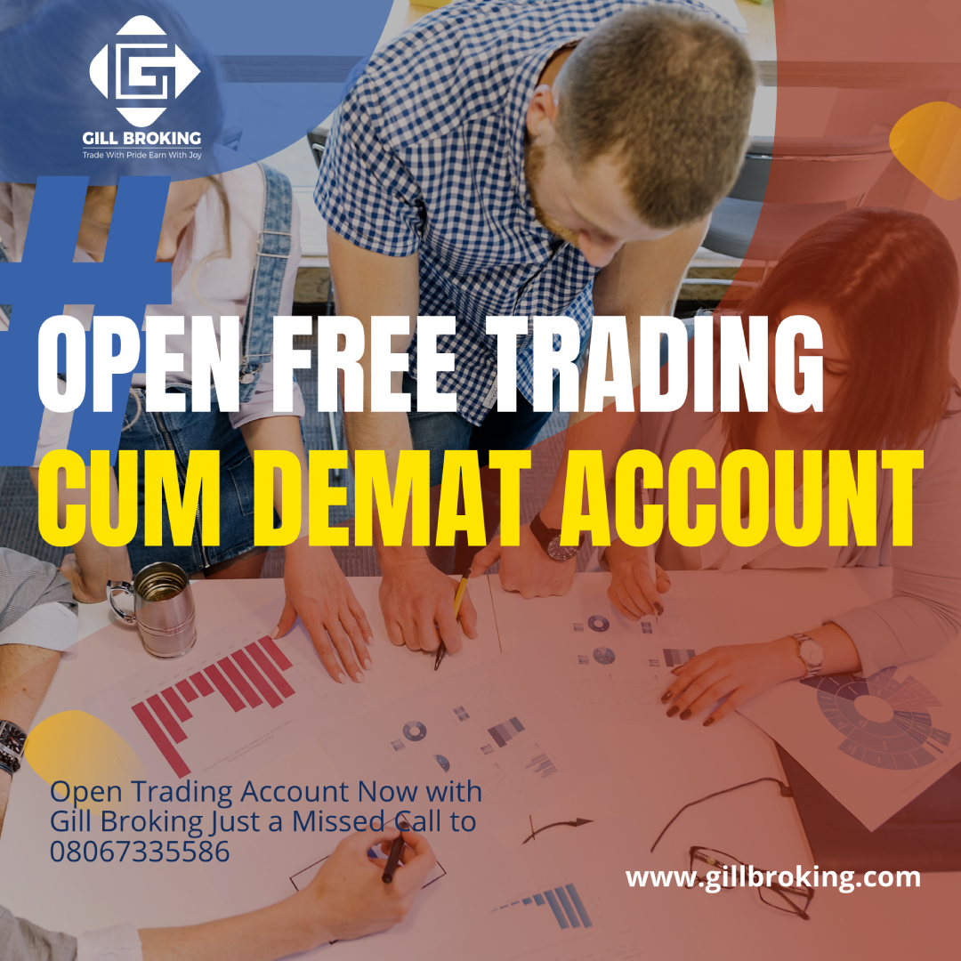 Open Free Trading cum Demat Account Now