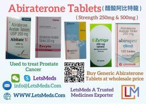 Indian Abiraterone Brands Supplier