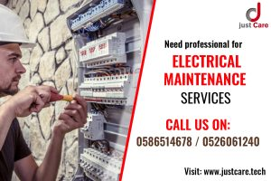 Looking for a Trusted Electrician in Dubai ?   Electrical Maintenance Services