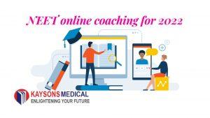 NEET online coaching for 2022
