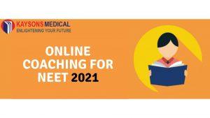 Online Coaching for NEET 2021