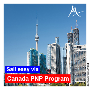 Sail easy via Canada PNP Program