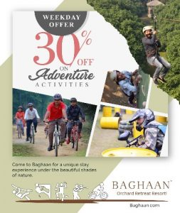 Weekdays Offer from Baghaan - Weekday Special - Baghaan Orchard Retreat