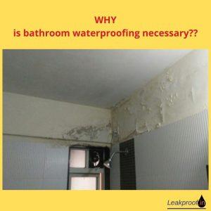 bathroom leakage solution