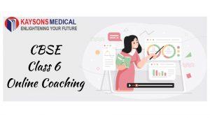 CBSE class 6 online coaching