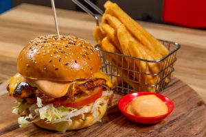 Hot-mama-with-spicy Burger