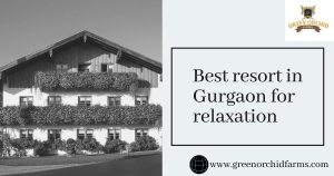 Best resort in Gurgaon