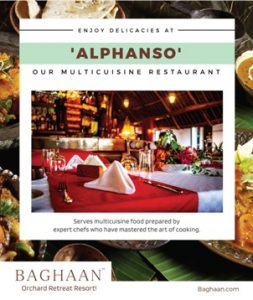 Enjoy Delicacies at Our Multicuisine Restaurant Alphanso - Baghaan