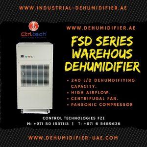 FSD warehouse dehumidifier