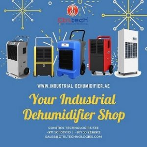 Industrial dehumidifier shop in UAE